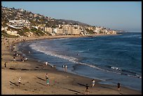 Beachfront. Laguna Beach, Orange County, California, USA ( color)