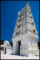 Temple in traditional South Indian style, Calabasas. Los Angeles, California, USA ( color)