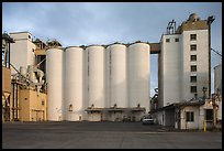 Grain silo. California, USA ( color)