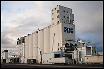 Grain elevator. California, USA ( color)