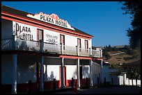 Plaza Hotel. San Juan Bautista, California, USA ( color)