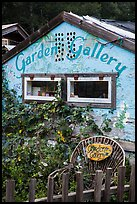 Garden gallery. Big Sur, California, USA ( color)