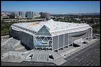 Aerial view of SAP Center. San Jose, California, USA ( color)