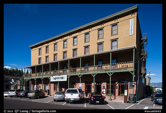 Truckee Hotel, Truckee. California, USA (color)