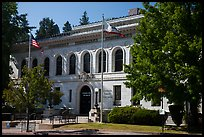 El Dorado County courthouse, Placerville. California, USA ( color)