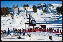 Boreal Mountain ski resort. California, USA ( color)