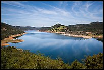 Don Pedro Reservoir. California, USA ( color)