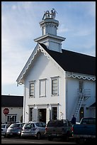 Church. Mendocino, California, USA ( color)