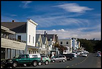 Main Street. Mendocino, California, USA ( color)
