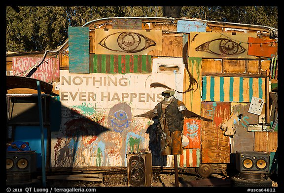 Nothing Ever Happens, Slab City. Nyland, California, USA (color)