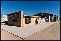 Bombay Beach grocery store. California, USA ( color)