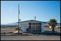 Post Office, Amboy. California, USA ( color)