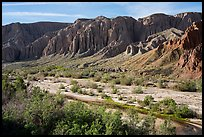 Afton Canyon of the Mojave River. Mojave Trails National Monument, California, USA ( color)
