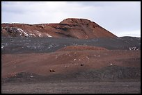 Pisgah Crater cinder cone. Mojave Trails National Monument, California, USA ( color)