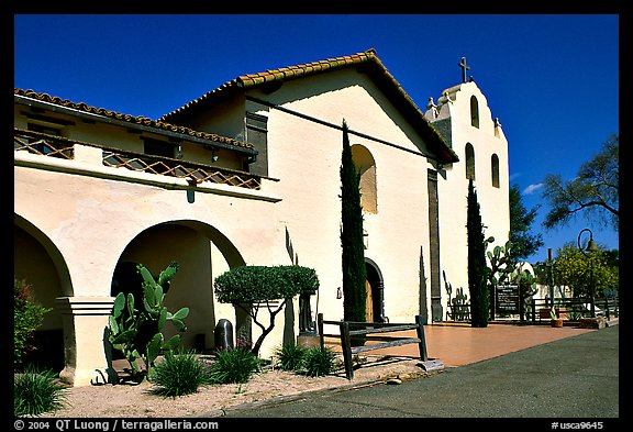 Mission Santa Inez. Solvang, California, USA