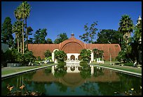 Conservatory of flowers, Balboa Park. San Diego, California, USA (color)