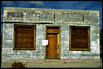 Abandonned post office. Mojave National Preserve, California, USA ( color)