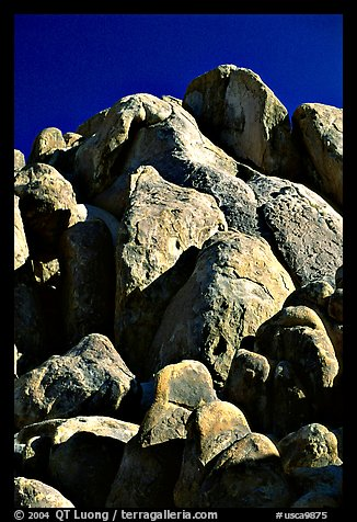 Boulders in Alabama Hills. California, USA (color)