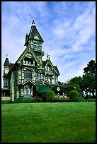 Victorian Carson Mansion, Eureka. California, USA ( color)