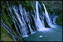 Burney Falls, McArthur-Burney Falls Memorial State Park. California, USA ( color)