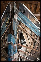 Prow of Schooner Australia. Mystic, Connecticut, USA (color)