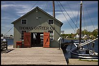 Thomas Oyster House. Mystic, Connecticut, USA (color)
