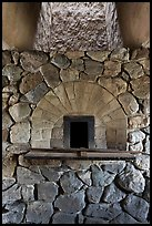 Finery forge hearth, Saugus Iron Works National Historic Site. Massachussets, USA ( color)