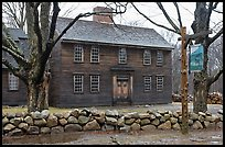 Hartwell Tavern, Lincoln, Minute Man National Historical Park. Massachussets, USA ( color)