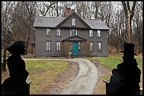 Louisa May Alcott Orchard House, Concord. Massachussets, USA ( color)