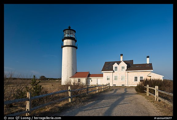 Cape Cod Light, Cape Cod National Seashore. Cape Cod, Massachussets, USA (color)