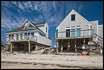 Beach houses, Truro. Cape Cod, Massachussets, USA ( color)