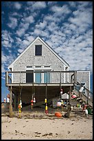 Beach house, Truro. Cape Cod, Massachussets, USA ( color)
