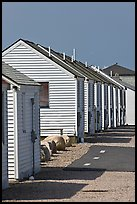 Beach Cottages, Truro. Cape Cod, Massachussets, USA ( color)