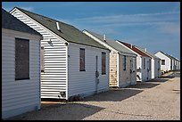 Day Cottages, Truro. Cape Cod, Massachussets, USA ( color)