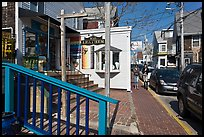 Commercial Street, Provincetown. Cape Cod, Massachussets, USA ( color)