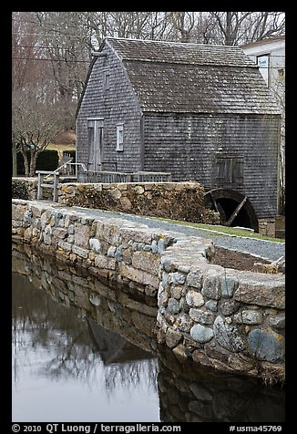 Dexter Grist Mill, Sandwich. Cape Cod, Massachussets, USA