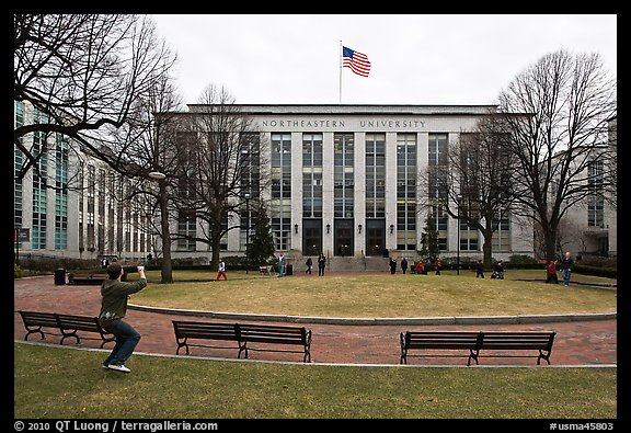 Northeastern University. Boston, Massachussets, USA (color)
