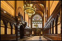 Memorial Transept, Memorial Hall, Harvard University, Cambridge. Boston, Massachussets, USA ( color)