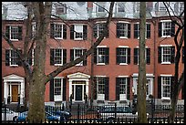 Louisburg Square, Beacon Hill. Boston, Massachussets, USA ( color)