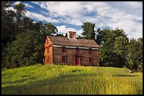 Captain William Smith house, Minute Man National Historical Park. Massachussets, USA (color)