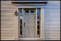 Door of Samuel Brooks House, Minute Man National Historical Park. Massachussets, USA (color)