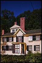 Wayside, home to Louisa May Alcott, Nathaniel Hawthorne, and Margaret Sidney.. Massachussets, USA ( color)
