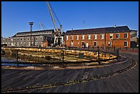 Charleston Navy Yard. Boston, Massachussets, USA ( color)