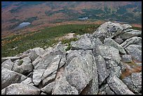 Rocks on summit of South Turner Mountain. Baxter State Park, Maine, USA ( color)