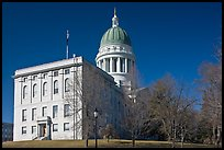 State Capitol of Maine. Augusta, Maine, USA (color)