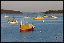 Traditional Maine  lobster boat. Stonington, Maine, USA ( color)