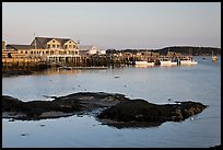 Harbor, late afternoon. Stonington, Maine, USA ( color)