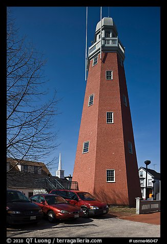 Portland observatory. Portland, Maine, USA (color)