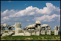 Carhenge. Alliance, Nebraska, USA (color)