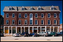 Building on main street. Concord, New Hampshire, USA (color)